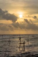 スリランカ南部の黄金海岸