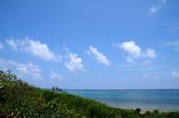石垣島の空と海