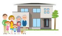 マイホームと三世代家族
