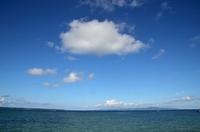 石垣島の海と空