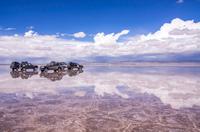 ウユニ塩湖ドライブ