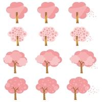 シンプルな桜の木