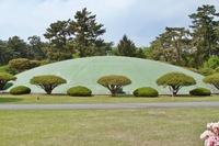 敷島浄水場の配水池