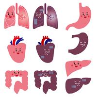 ヒトの臓器キャラクター
