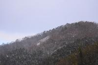 山の雪景色