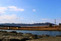 園瀬川と眉山