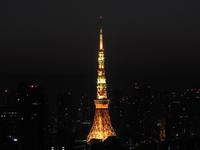 夜中の東京タワー