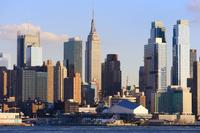 ニュージャージー側から見たマンハッタン