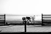1月の鎌倉由比ヶ浜