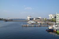 大黒埠頭の豪華客船