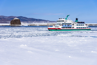 網走港の砕氷船