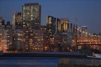 マンハッタンブリッジの夜景