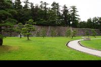 松江城二の丸御殿跡