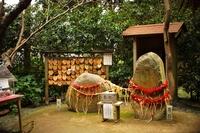 鎌倉の町並み 葛原岡神社(男石・女石)