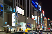 東京 銀座の夜景