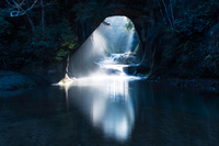 千葉県・濃溝の滝3月
