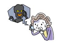 電話:詐欺、犯罪の手口