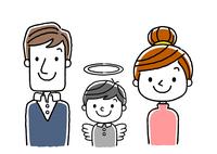 3人家族:子供と死別
