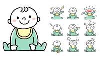赤ちゃん:セット、バリエーション
