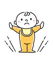 赤ちゃん:立つ