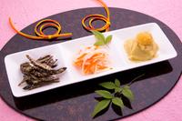 おせち料理 祝い肴と酢の物