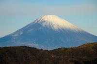 富士山と長尾峠 - 箱根からの眺望