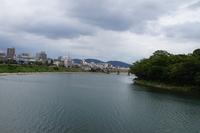 岡山城(お濠)