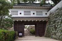 岡山城(廊下門)