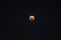 2014年10月 皆既月食