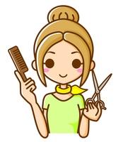 美容師 イラスト