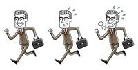 ビジネスマン:走る、バリエーション