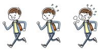 男の子:走る、セット、バリエーション