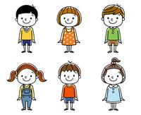 子供たち:男の子と女の子、友達、仲間