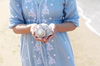 女性 貝殻