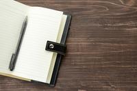 ビジネスイメージ―空欄の手帳