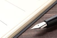 手帳と万年筆