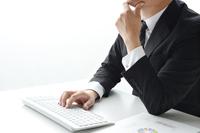 ビジネスイメージ―考えるビジネスマン