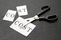 ビジネスイメージ―コストのカット