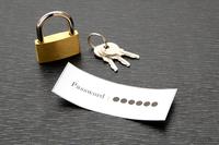 パスワードの保護