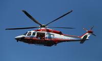 横浜市消防局のヘリコプターはまちどり