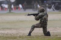 【陸上自衛隊】小銃射撃姿勢