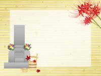 秋のお彼岸イメージ