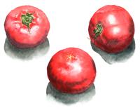 トマト丸ごと3個