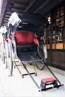 浅草の町並み 人力車