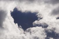 ハート型!? 雲