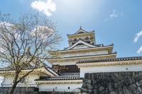 上山城の風景