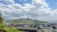 上山市街地の全景