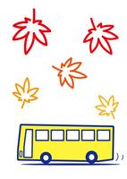 バス観光 紅葉