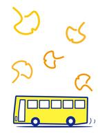 バス観光 銀杏