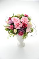 花瓶に入ったバラ